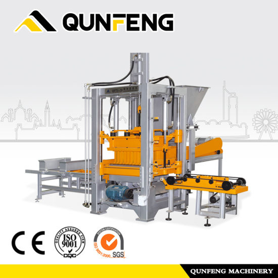 Brick Making Machine/Made in China Automatic Block Machine/Brick Machineqft3-20