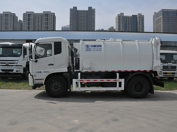 6CBM Kitchen Sewage Truck