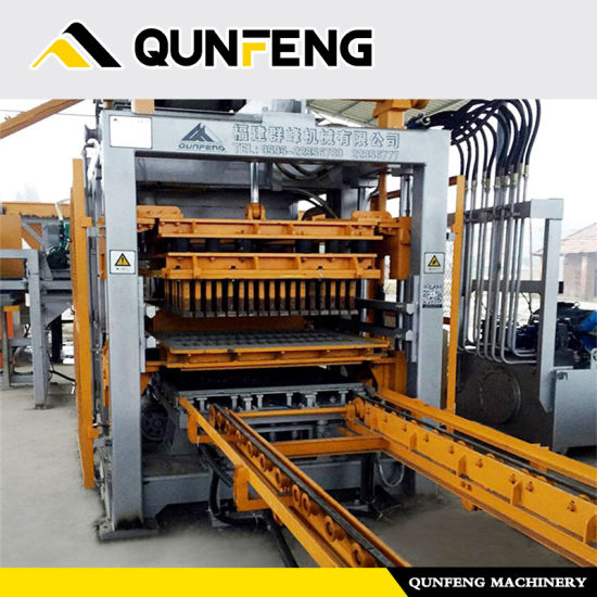 Concrete Brick Making Machine/Made in China Automatic Block Machine