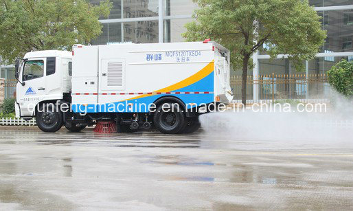 Water Cannon Road Cleaning Truck