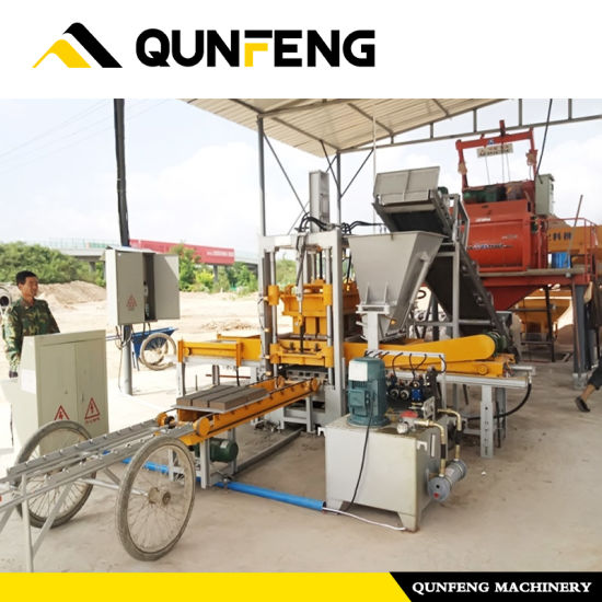China Manufacturer for Brand Qmr2-40 Manual Cement Brick Making Machine In Kerala Dubai