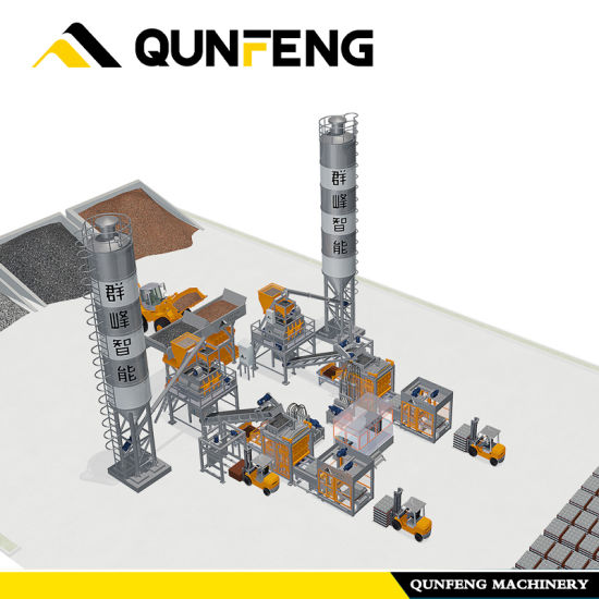Rully Automatic Block Production Line with High Effiency