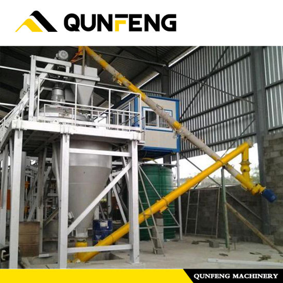 Cement Storeage for Block Making