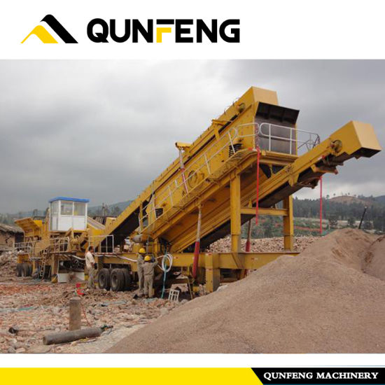 Wholesale Price China Block Maker Machine - Mobile Building Waste Production Line 90 T / Hour – Qunfeng