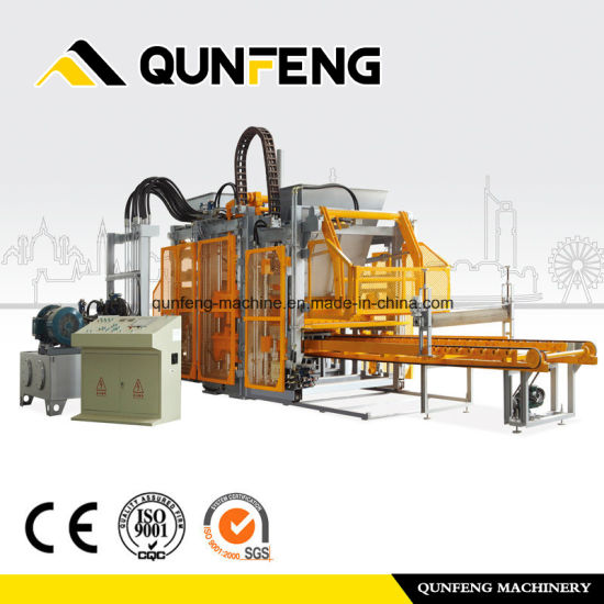 Excellent quality Dump Station - Qf1800 Manual Block and Brick Making MachinesCement Block Machine – Qunfeng