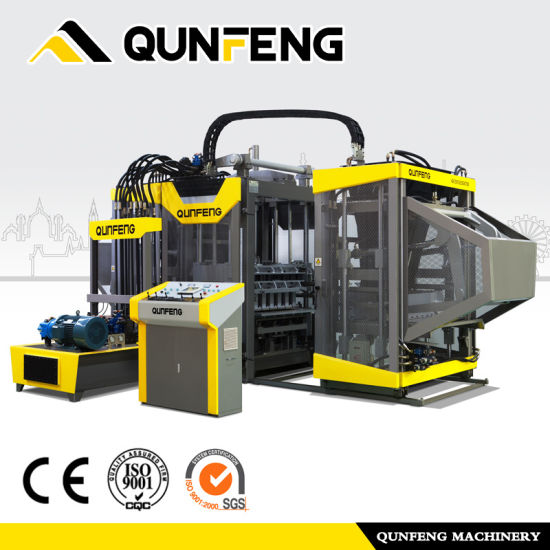 Wholesale Dealers of Brick Making Machine Block - Qt8-15 Latest Technology Interlock Paver Machine – Qunfeng