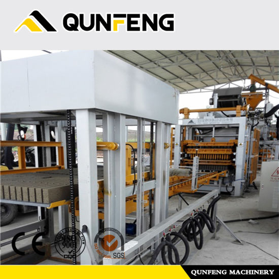 Concrete Block Machine Paving Brick Machine Qf700