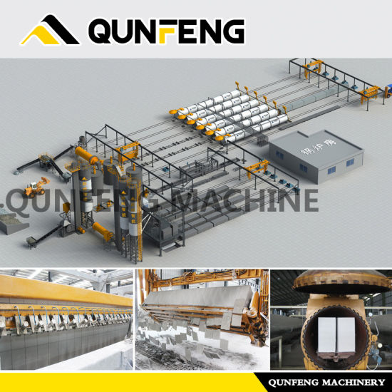 Hot-selling AAC Block making plant/Thermostone making machine/Autoclaved aerated concrete block machine