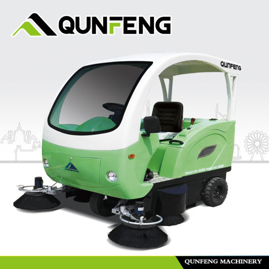 Eco-Friendly Electric Road Cleaning Sweeper