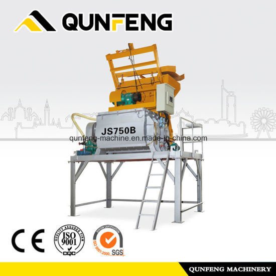 Cheap PriceList for Mixer Machine - Twin-Shaft Concrete Mixer Js 750 – Qunfeng