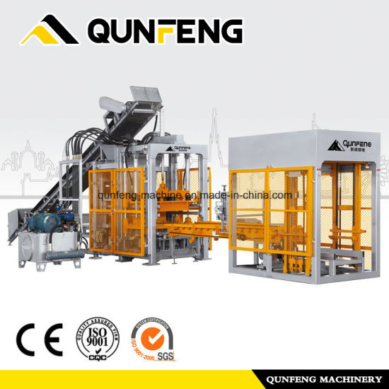 Super Lowest Price Bangladesh Hollow Brick Machinery - Concrete Brick Making Machine/Cement Brick Machine – Qunfeng