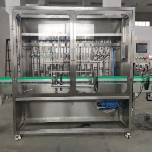 Olive oil glass bottle Filling capping labeling machines