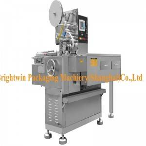 Automatic sugar cube wrapping machinery with CE ISO