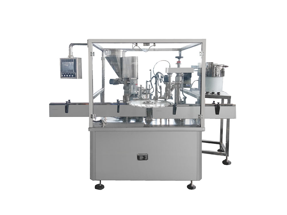 Chinese Professional Powder Filling Machine Small -