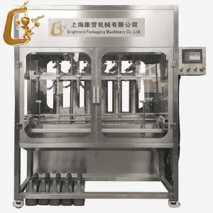 5L engine oil 6 servo motor control filling line