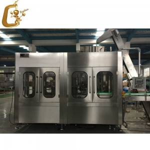 Brightwin Automatic liquid oil juice milk bottle filling capping 2 in 1 machine