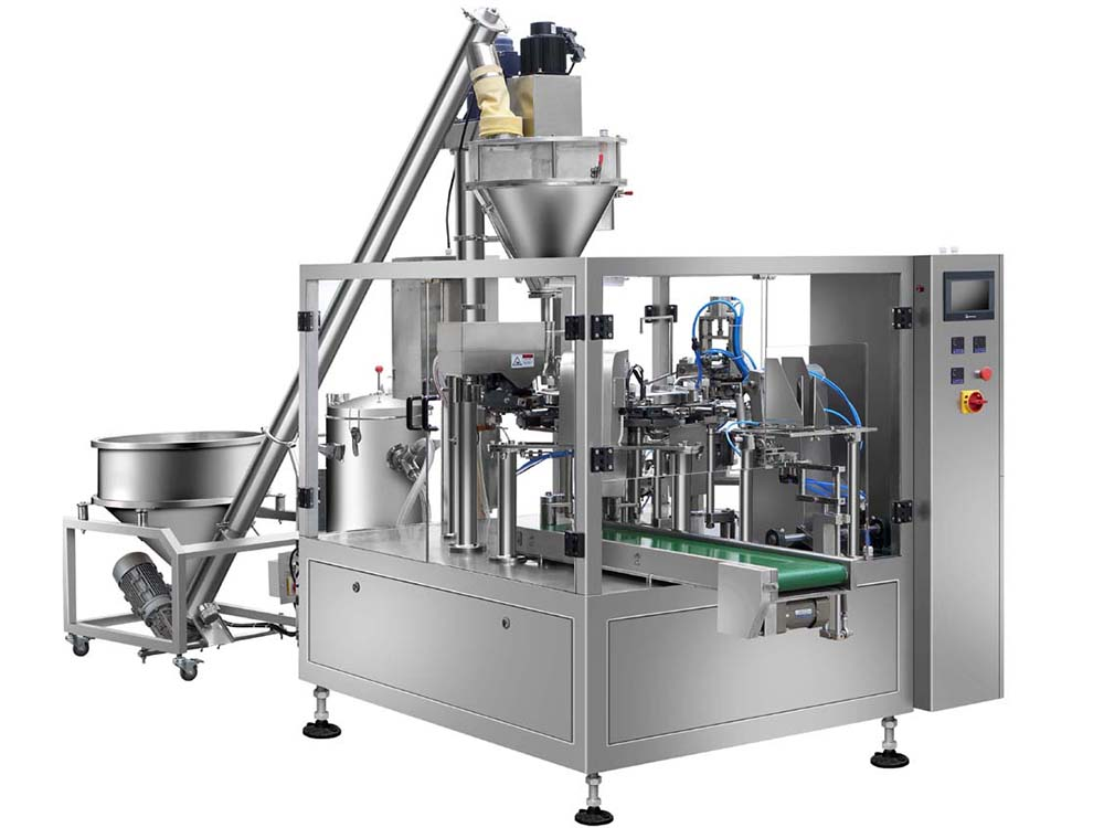 2020 Good Quality Powder Can Filling Machine -
