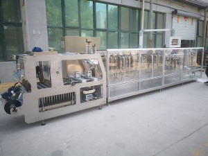 Horizontal doypack pouch powder packing machine