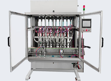 Liquid and thick liquid filling line