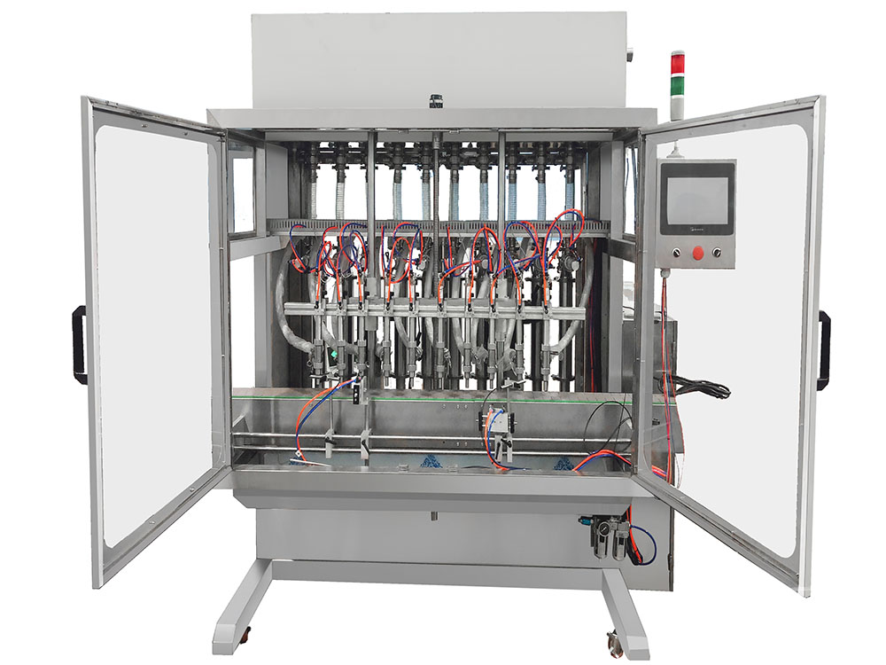 Thick sticky liquid filling machine Featured Image