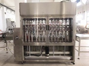 Automatic hand sanitizer manufacture filling capping machines