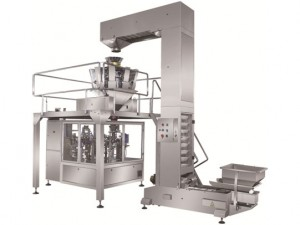 Rotary doypack puyo sa granule packing machine