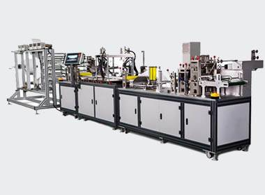 Automatic n95 mask making line01