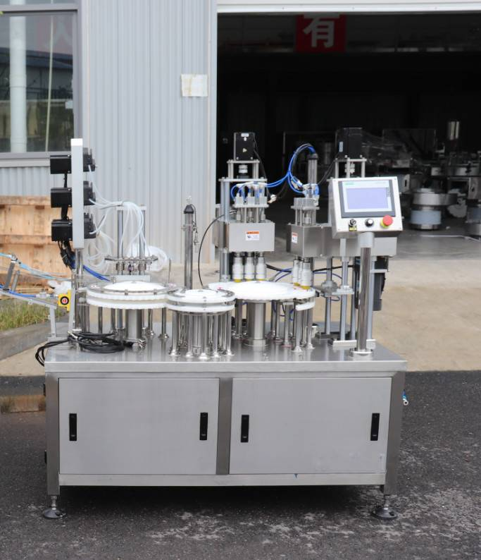 Oral liquid test tube filling and capping machine Featured Image