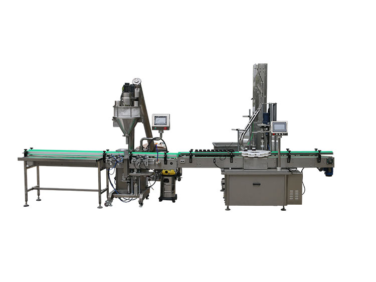 2020 China New Design Automatic Powder Filling Machine -