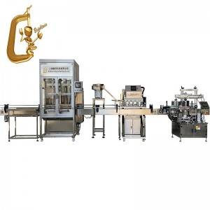 Liquid Medicine Bottle Filling capping labeling machine for cough syrup
