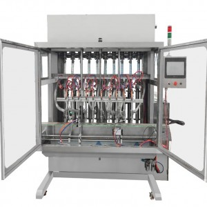 Automatic Cooking Oil / Edible Oil Vegetable Filling Capping Labeling Machine Equipment