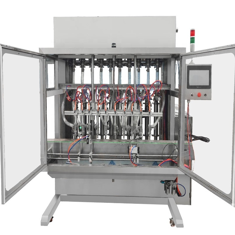 OEM Automatic Cooking Edible Vegetable Castor Sunflower Oil Filling Machine Featured Image