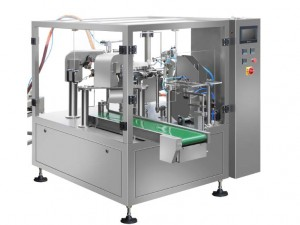 Rotary doypack powder packing machine