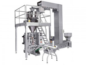 Granule weighing packing machine