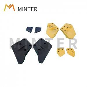 Caterpillar mini excavator construction heavy equipment sidebar protection Cat E series excavators E70B E100B E120B E200B E300 E320 and Cat new excavator 307 312 320 325 330 Side cutter