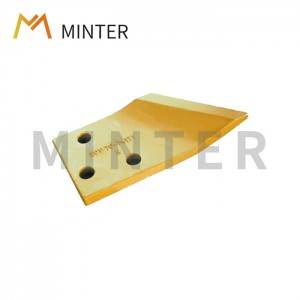 Komatsu style direct replacement parts Excavator PC60 side bucket cutter bucket corner protector 201-70-74171 / 201-70-74181 chinese supplier