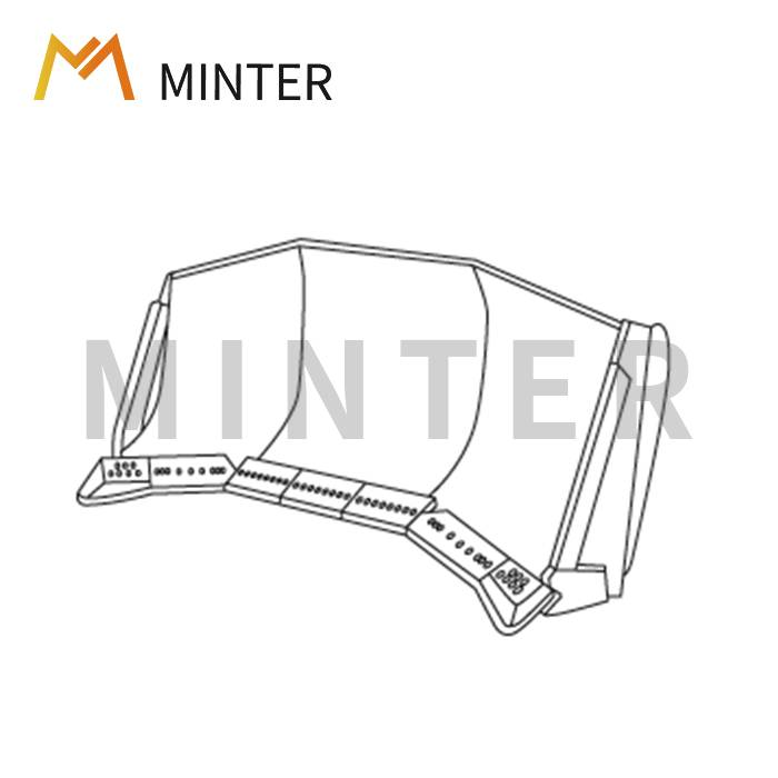China Gold Supplier for R500 Ripper Tooth -