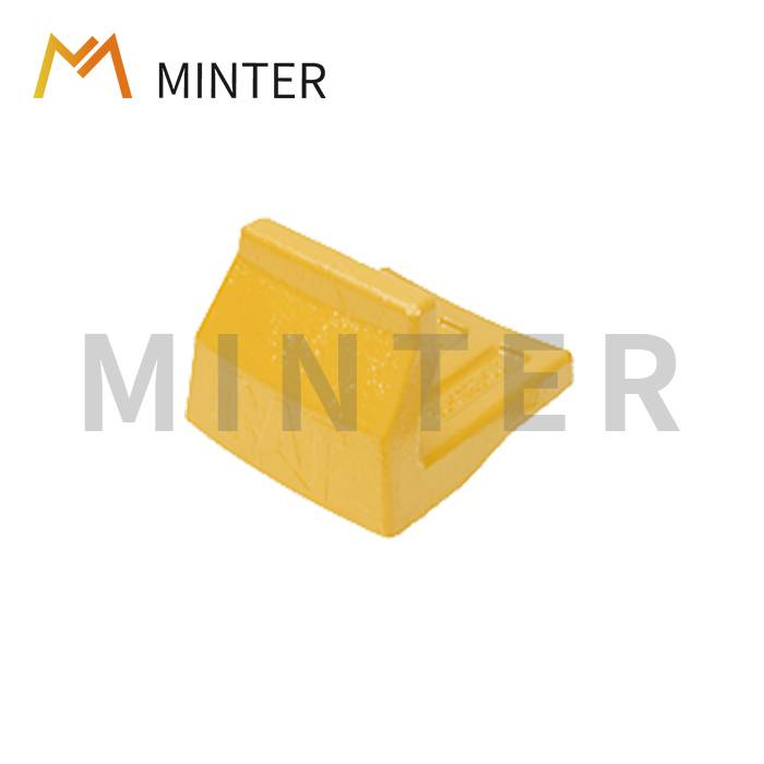 China wholesale Sidebar Protector – Bucket wear parts wear protection Heel shrouds bucket corner protection weld-on shroud construction shroud protective earthmoving wear parts – Minter...
