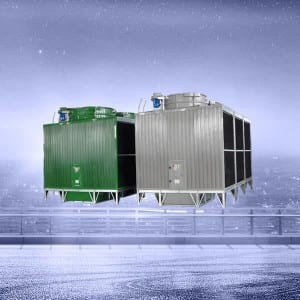 Original Factory 4 Pipe Air Water Heat Pump - High Efficiecny Cooling Tower – Bueco