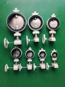 anti-condensation butterfly valve with gear operator