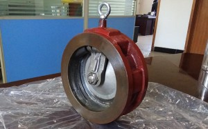 Jefa Iron Wafer Single Plate Duba bawul
