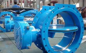 Double Eccentric Flens Butterfly Valve