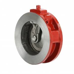 Wafer type single disc check valve