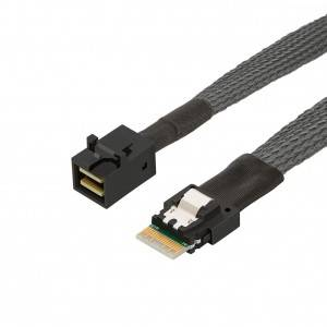 SFF-8654 to SFF-8643 Cable 1.5Feet / 0.45Meter, # CS0134-1