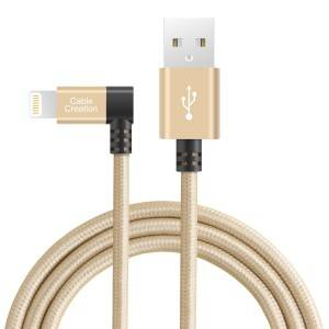 iPhone Charger 90 Degree 4Feet / 1.2Meters, # CC0177