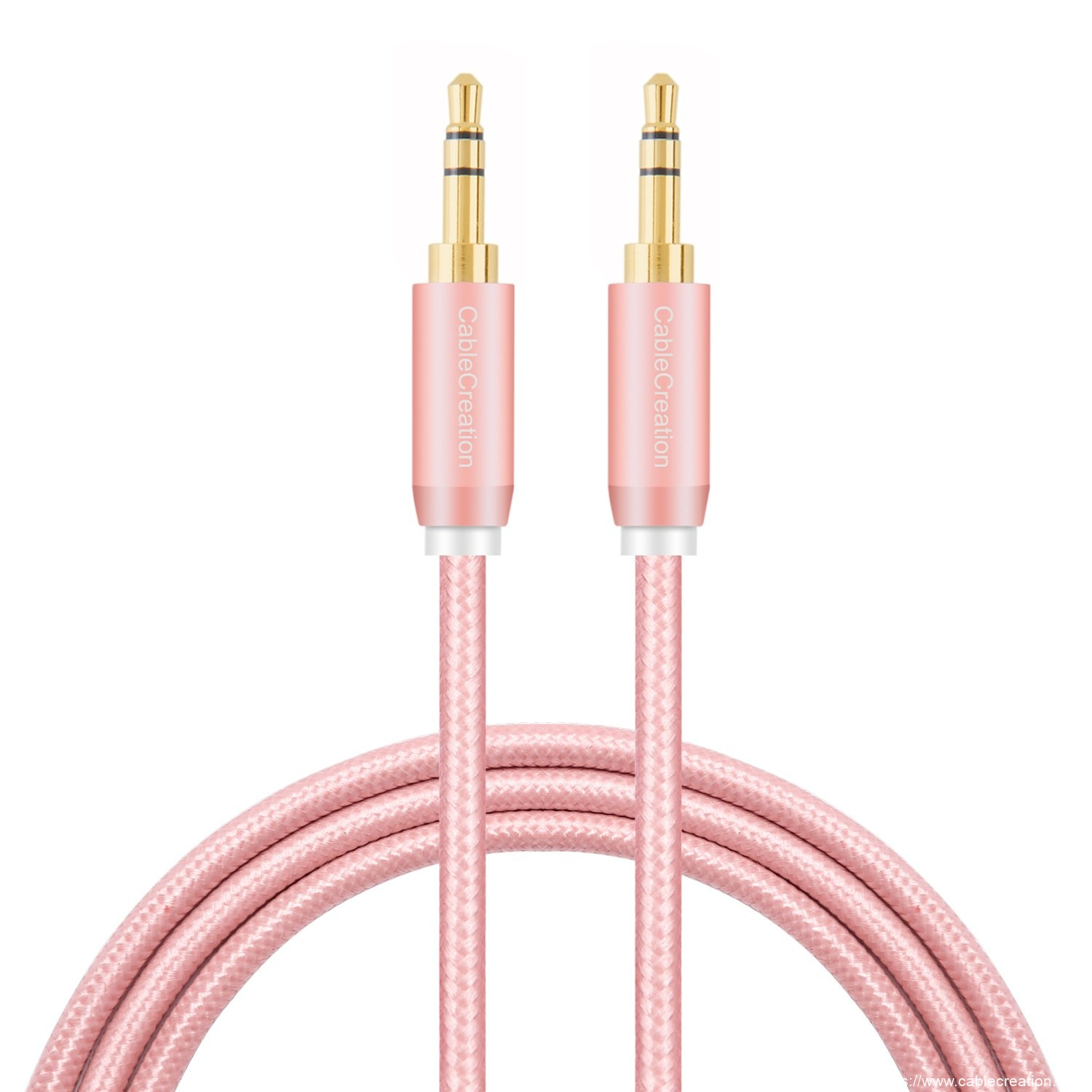 Professional Design 3.5 Mm To Rca - 3.5mm Braided Audio Cable 6 Feet/1.8 Meters, #CC0296 – CableCreation