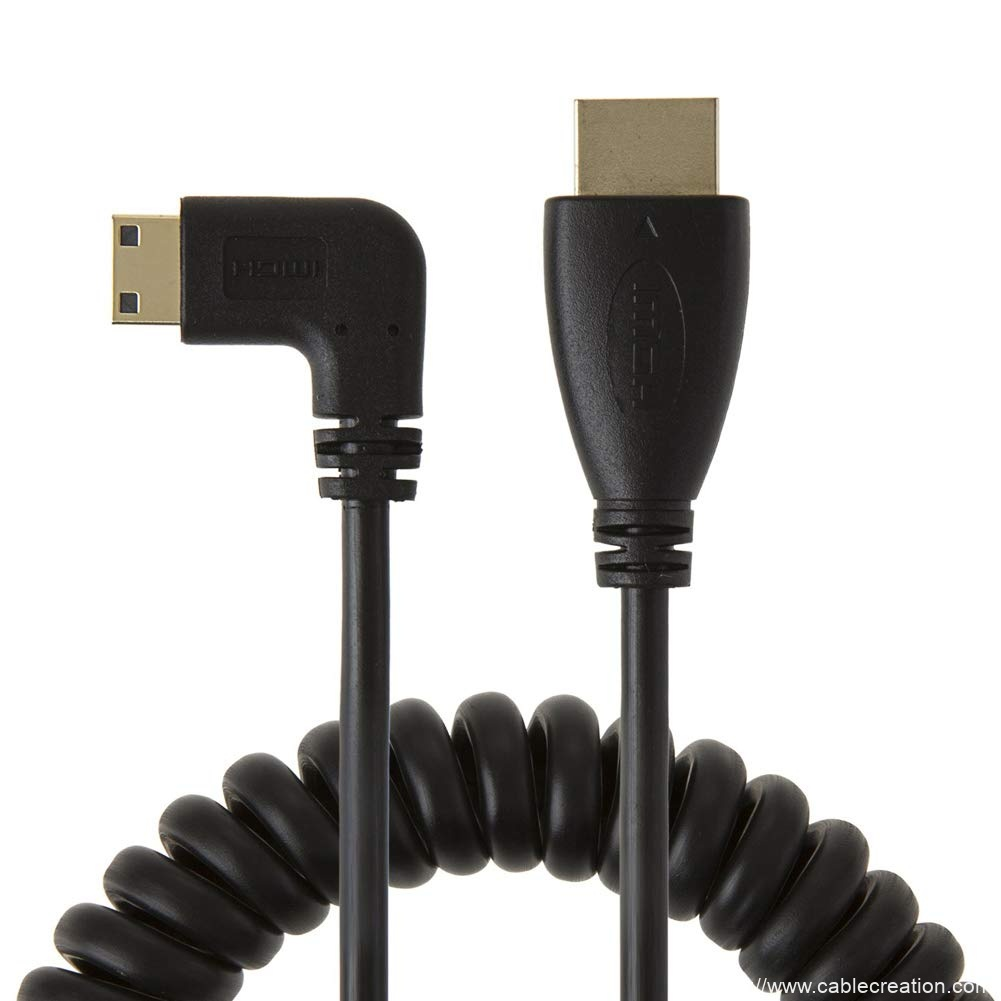 Mini HDMI to HDMI 5Feet/1.6Meters, #CC0353