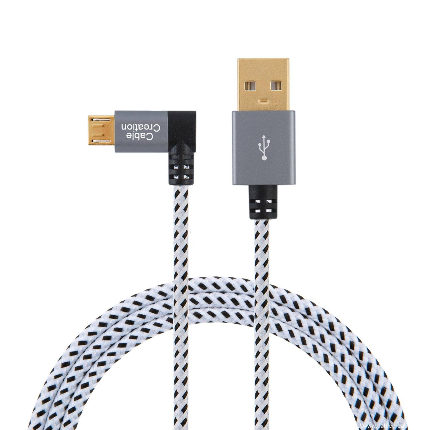 OEM Manufacturer Angle Usb Cable - Left Angle USB 2.0 Cable 3.2Feet/1Meter, #CC0542 – CableCreation