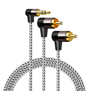 2019 wholesale price Headphones Cable 10ft - 3.5mm to RCA 16 Feet/4.8 Meters, #CC0779 – CableCreation