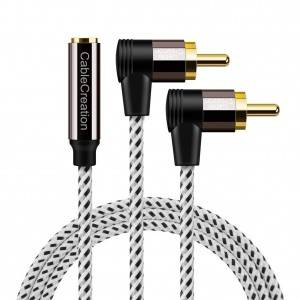 3.5mm to RCA Cable 6.6Feet / 2Meters, # CC0821